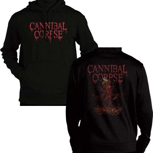 【お取寄せ】Cannibal Corpse / カンニバル・コープス - Crown Skeleton. パーカー