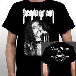 Pentagram / ペンタグラム - Last Rites. Tシャツ【お取寄せ】