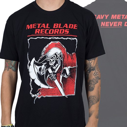 <img class='new_mark_img1' src='https://img.shop-pro.jp/img/new/icons1.gif' style='border:none;display:inline;margin:0px;padding:0px;width:auto;' />Metal Blade Records / メタル・ブレイド・レコーズ - Old School Reaper. Tシャツ【お取寄せ】