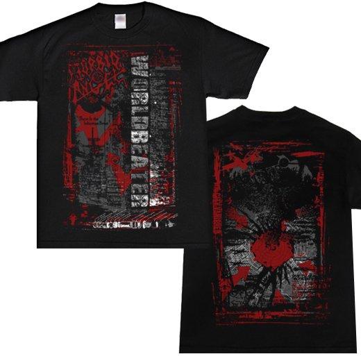 Morbid Angel / モービッド・エンジェル - Worldbeater Red Arrows. Tシャツ【お取寄せ】