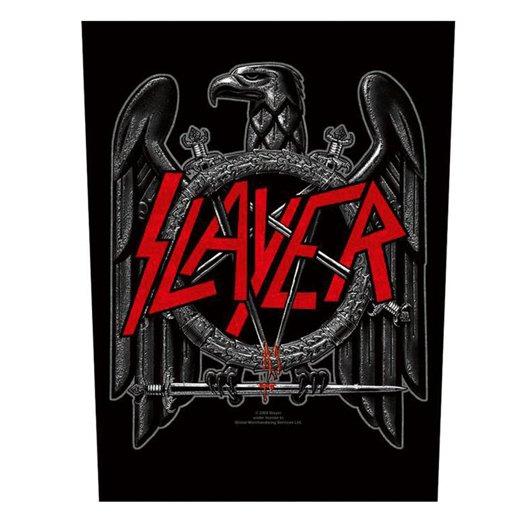 Slayer / スレイヤー - Black Eagle. バックパッチ【お取寄せ】
