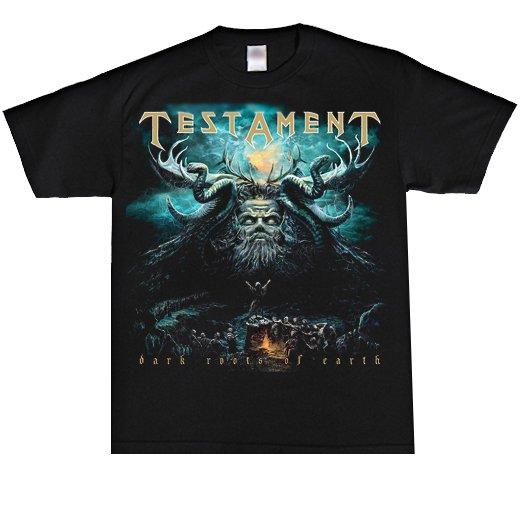 Testament / テスタメント - Dark Roots Of Earth. Tシャツ【お取寄せ】