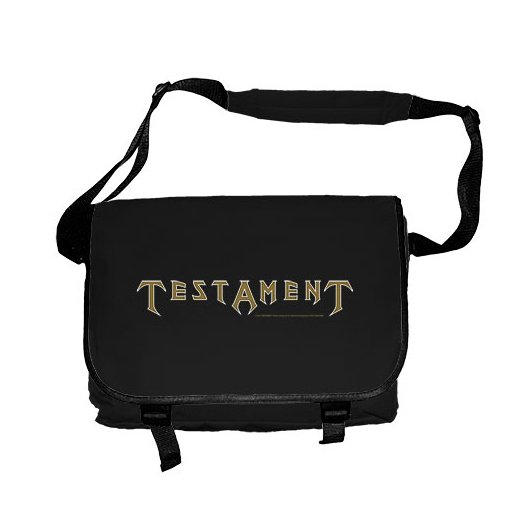 Testament / テスタメント - Logo. メッセンジャーバック【お取寄せ】
