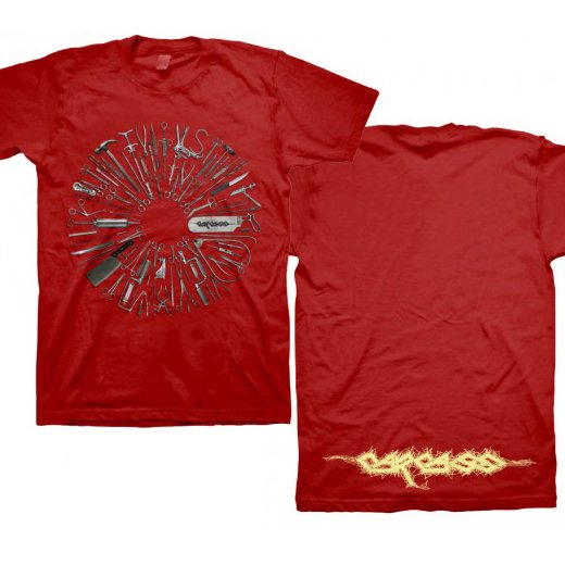 Carcass / カーカス - Surgical Remission Red. Tシャツ【お取寄せ】