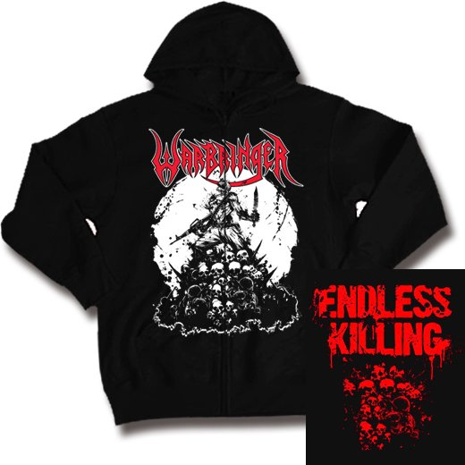 Warbringer / ウォーブリンガー - Endless Killing. ジップアップパーカー【お取寄せ】