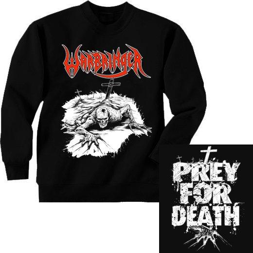 Warbringer / ウォーブリンガー - Prey For Death. トレーナー【お取寄せ】
