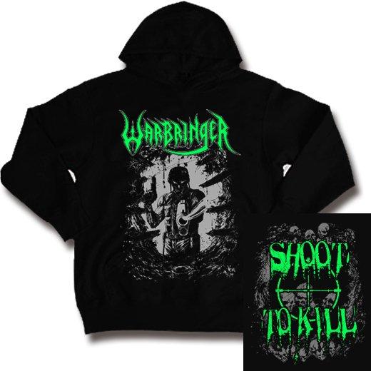 Warbringer / ウォーブリンガー - Shoot To Kill. パーカー【お取寄せ】
