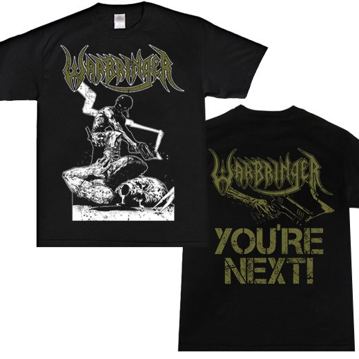 Warbringer / ウォーブリンガー - You're Next. Tシャツ【お取寄せ】