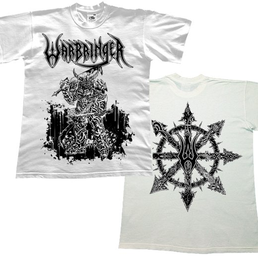Warbringer / ウォーブリンガー - Warbeast (White). Tシャツ【お取寄せ】