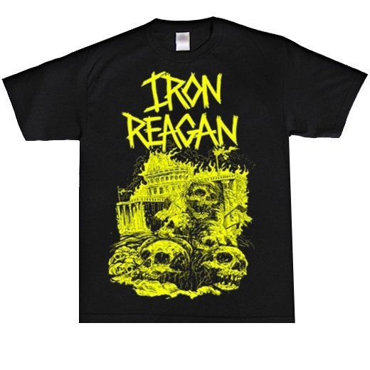 Iron Reagan / アイアン・レーガン - Capital Skulls. Tシャツ【お取寄せ】
