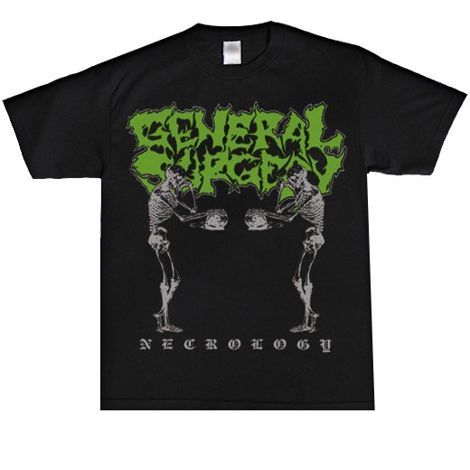 General Surgery / ジェネラル・サージェリー - Necrology. Tシャツ【お取寄せ】