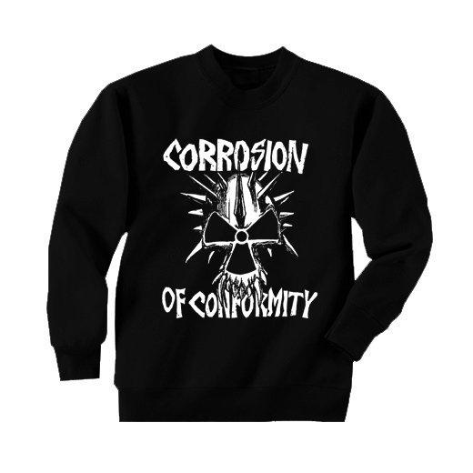 Corrosion Of Conformity / コロージョン・オブ・コンフォーミティ - Skull. トレーナー【お取寄せ】