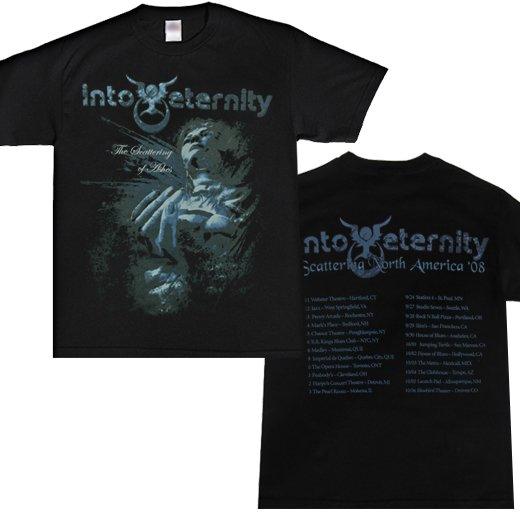 【即納商品】Into Eternity / イントゥ・エタニティー - The Scattering Of Ashes. Tシャツ(Sサイズ)
