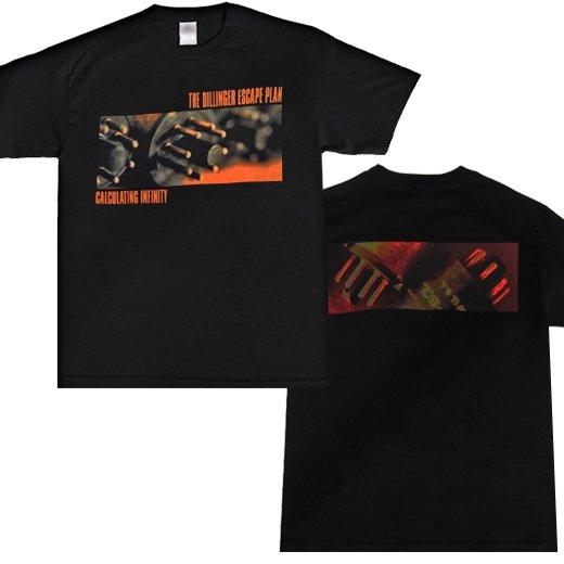 【即納商品】The Dillinger Escape Plan / ザ・ディリンジャー・エスケープ・プラン - Calculating Infinity. Tシャツ(Sサイズ)