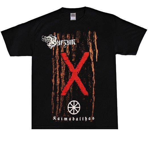 【即納商品】Burzum / バーズム - Kaimadalthas. Tシャツ(Sサイズ)
