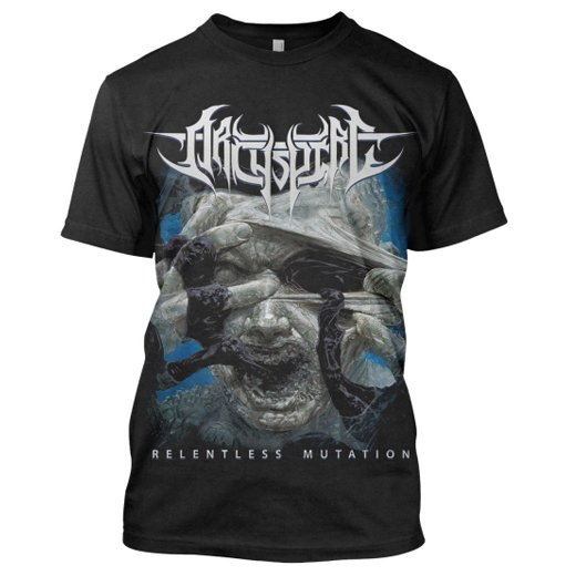 Archspire /  アークスパイア - Relentless Mutation. Tシャツ【お取寄せ】
