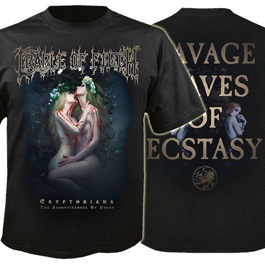 Cradle Of Filth / クレイドル・オブ・フィルス - The Seductiveness Of Decay. Tシャツ【お取寄せ】