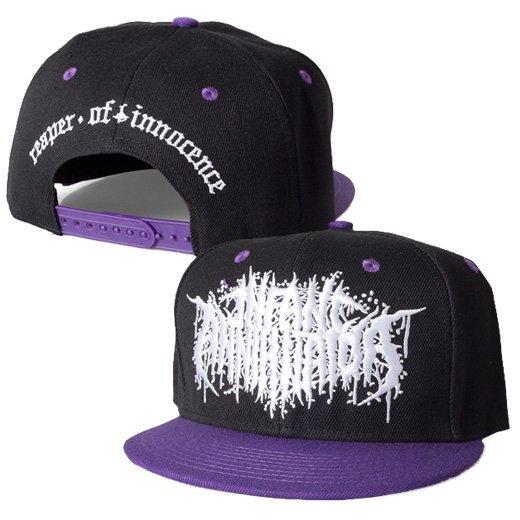 Infant Annihilator / インファント・アナイアレーター - Reaper (Black X Purple). キャップ【お取寄せ】