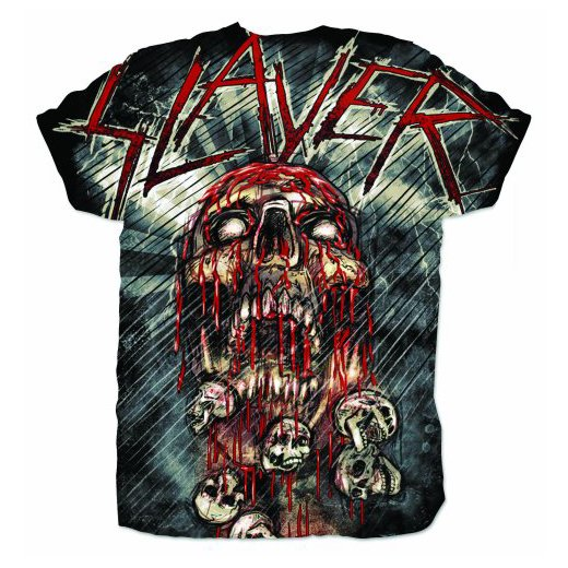 <img class='new_mark_img1' src='https://img.shop-pro.jp/img/new/icons1.gif' style='border:none;display:inline;margin:0px;padding:0px;width:auto;' />Slayer / スレイヤー - War Painted Blood. Tシャツ【お取寄せ】