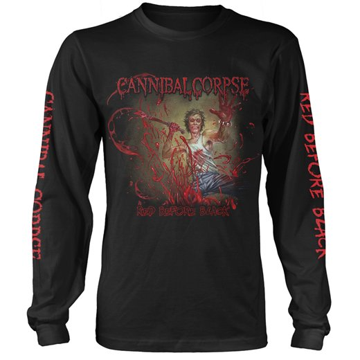 Cannibal Corpse / カンニバル・コープス - Red Before Black. ロングスリーブTシャツ【お取寄せ】