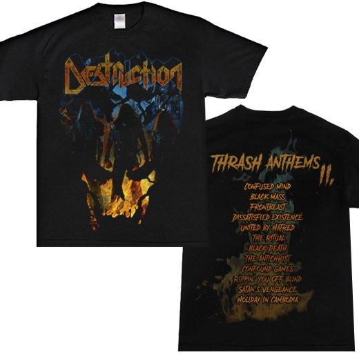 Destruction / デストラクション - Thrash anthems II. Tシャツ【お取寄せ】