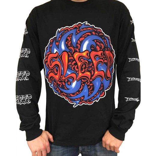 Sleep / スリープ - Logo. ロングスリーブTシャツ【お取寄せ】