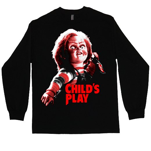 Child's Play / チャイルド・プレイ - Chucky. ロングスリーブTシャツ【お取寄せ】