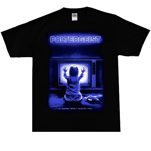 Poltergiest / ポルターガイスト - It Knows What Scares You. Tシャツ【お取寄せ】