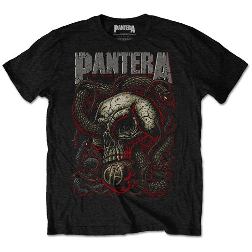 <img class='new_mark_img1' src='https://img.shop-pro.jp/img/new/icons1.gif' style='border:none;display:inline;margin:0px;padding:0px;width:auto;' />Pantera / パンテラ - Serpent Skull. Tシャツ【お取寄せ】