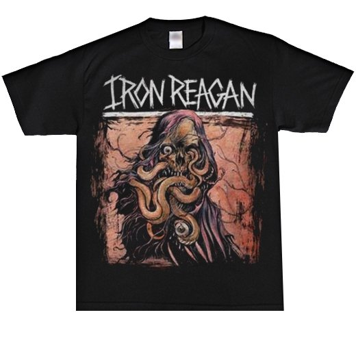 Iron Reagan / アイアン・レーガン - Tentacle Skull. Tシャツ【お取寄せ】