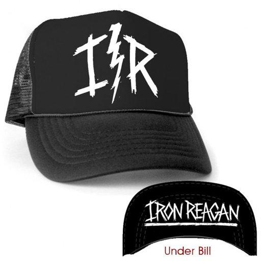 Iron Reagan / アイアン・レーガン - Lightning Bolt. メッシュキャップ【お取寄せ】
