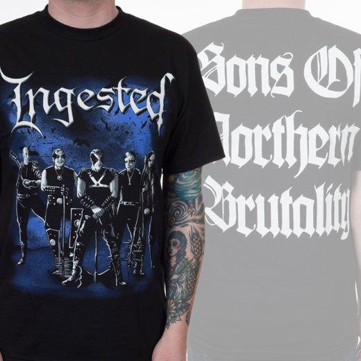 Ingested / インジェステッド - Immortal. Tシャツ【お取寄せ】