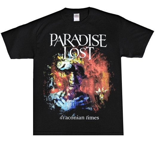 <img class='new_mark_img1' src='https://img.shop-pro.jp/img/new/icons1.gif' style='border:none;display:inline;margin:0px;padding:0px;width:auto;' />Paradise Lost / パラダイス・ロスト - Draconian Times. Tシャツ【お取寄せ】