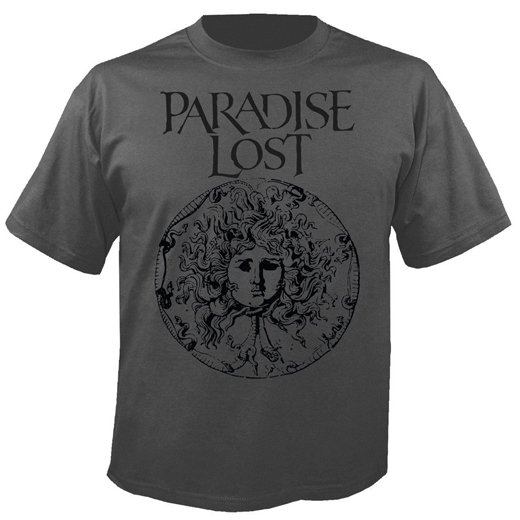 <img class='new_mark_img1' src='https://img.shop-pro.jp/img/new/icons1.gif' style='border:none;display:inline;margin:0px;padding:0px;width:auto;' />Paradise Lost / パラダイス・ロスト - Medusa Crest (Grey). Tシャツ【お取寄せ】