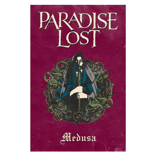 <img class='new_mark_img1' src='https://img.shop-pro.jp/img/new/icons1.gif' style='border:none;display:inline;margin:0px;padding:0px;width:auto;' />Paradise Lost / パラダイス・ロスト - Medusa. フラッグ【お取寄せ】