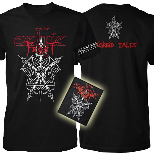 <img class='new_mark_img1' src='https://img.shop-pro.jp/img/new/icons1.gif' style='border:none;display:inline;margin:0px;padding:0px;width:auto;' />Celtic Frost / セルティック・フロスト - Morbid Tales. Tシャツ x パッチセット【お取寄せ】