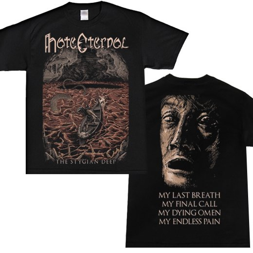 <img class='new_mark_img1' src='https://img.shop-pro.jp/img/new/icons1.gif' style='border:none;display:inline;margin:0px;padding:0px;width:auto;' />Hate Eternal / ヘイト・エターナル - The Stygian Deep. Tシャツ【お取寄せ】