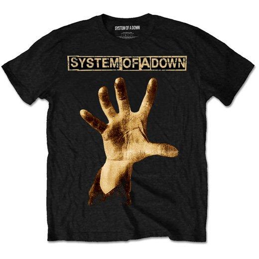 System of a Down / システム・オブ・ア・ダウン - Hand. Tシャツ【お取寄せ】