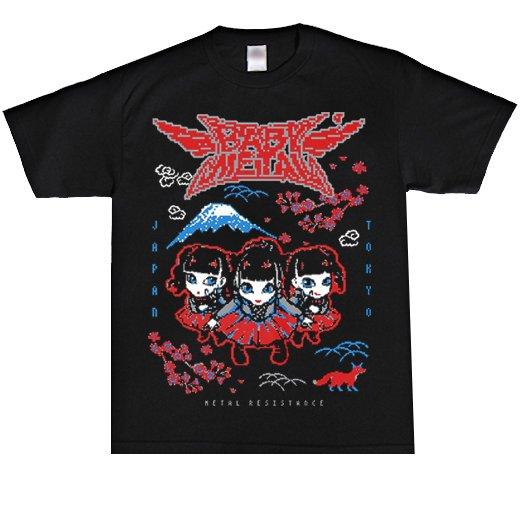 BABYMETAL / ベビーメタル - Pixel Tokyo. Tシャツ【お取寄せ】