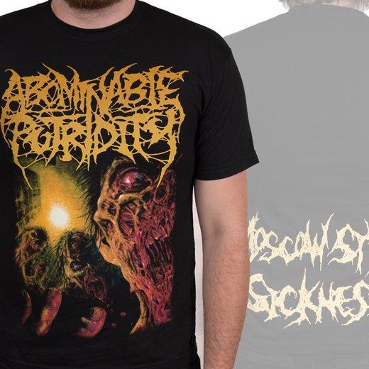 Abominable Putridity / アボミナブル・ピュトリディティ - Zombies. Tシャツ【お取寄せ】