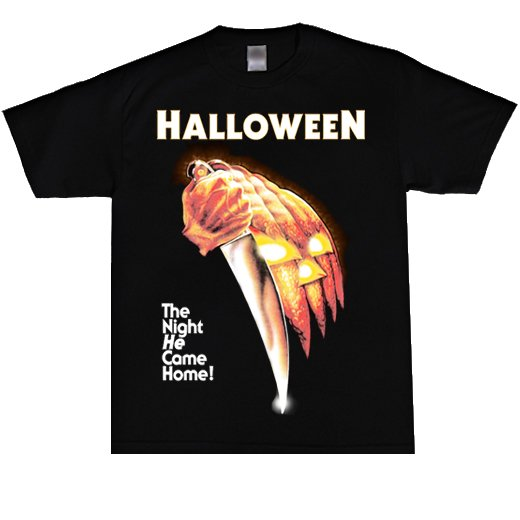 <img class='new_mark_img1' src='https://img.shop-pro.jp/img/new/icons1.gif' style='border:none;display:inline;margin:0px;padding:0px;width:auto;' />Halloween / ハロウィン - The Night He Come Home!. Tシャツ【お取寄せ】
