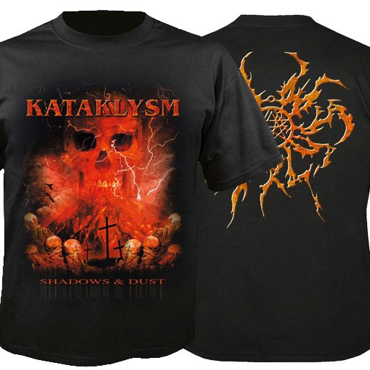 Kataklysm / カタクリズム - Shadows & Dust. Tシャツ【お取寄せ】