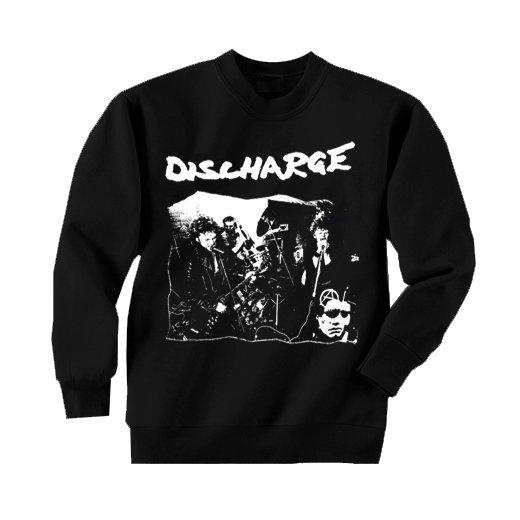 【即納商品】Discharge / ディスチャージ - Band Playing. トレーナー(Mサイズ)