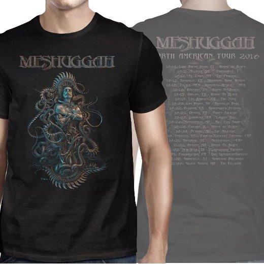 Meshuggah / メシュガー - The Violent Sleep 2016 Tour. Tシャツ【お取寄せ】