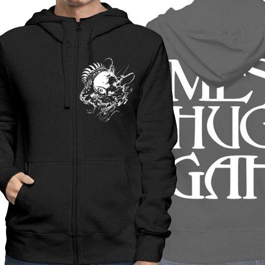 Meshuggah / メシュガー - Head. ジップアップパーカー【お取寄せ】