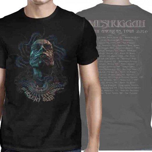 Meshuggah / メシュガー - Tentacle Head 2016 Tour. Tシャツ【お取寄せ】