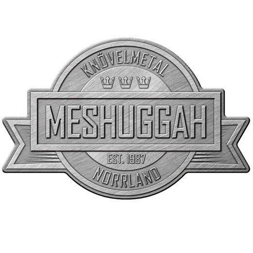 Meshuggah / メシュガー - Crest. ピンバッジ【お取寄せ】