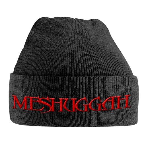 Meshuggah / メシュガー - Red Logo. ニットキャップ【お取寄せ】