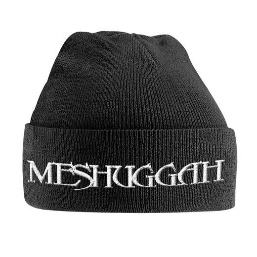 Meshuggah / メシュガー - White Logo. ニットキャップ【お取寄せ】