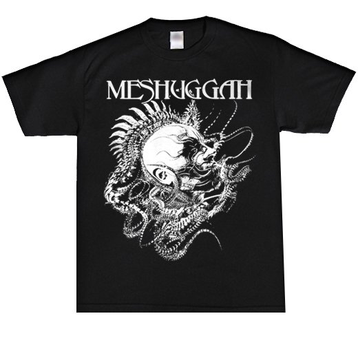 Meshuggah / メシュガー - Spine Head. Tシャツ【お取寄せ】